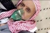 مسن خلع كمامة الأوكسجين وأعلنها  ((أشجع الأهلي)) حتى الموت