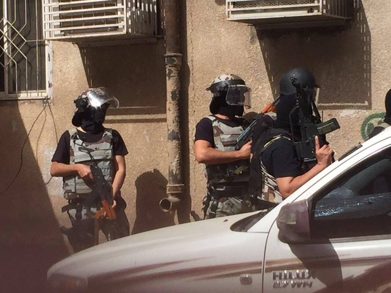 بالفيديو والصور عملية المداهمة لـ 3 ارهابيين بالمدينة المنورة