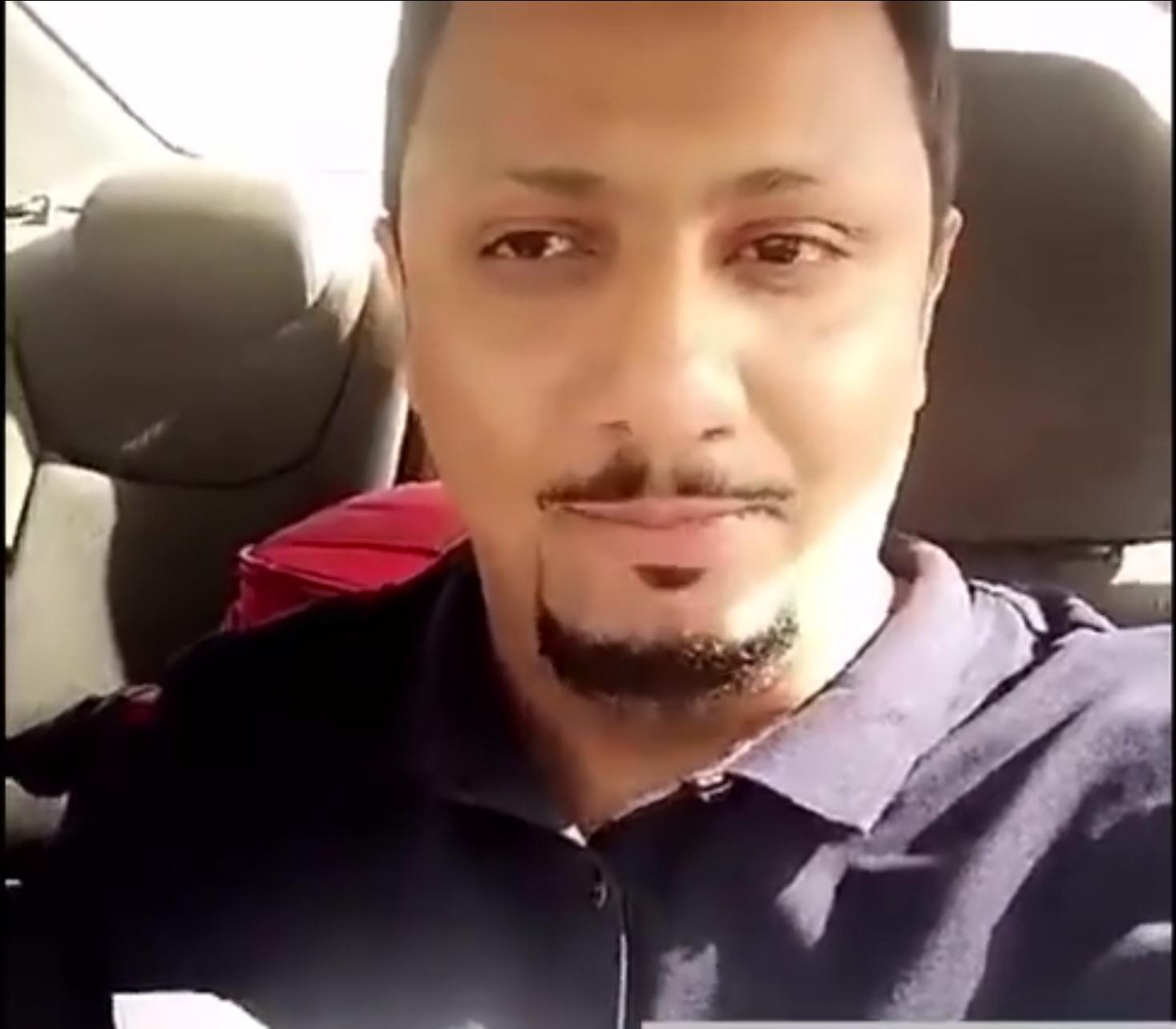 فيديو ?تعرض الإعلامي ابراهيم المعيدي للسحر