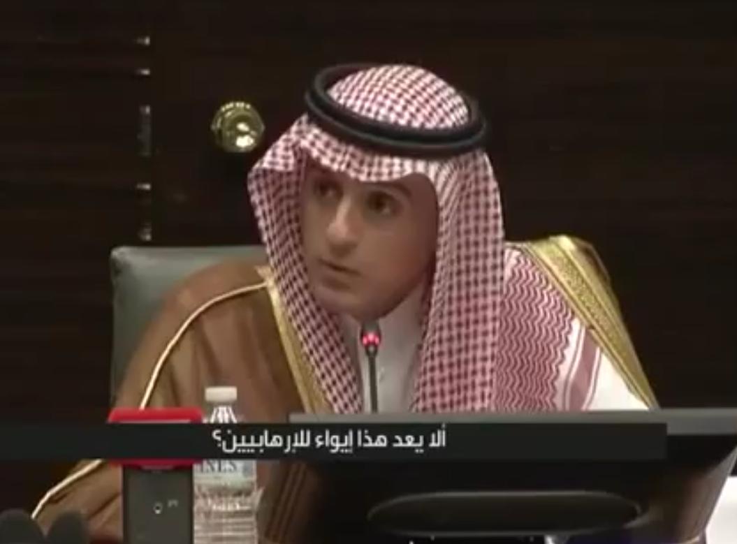 بالفيديو #عادل_الجبير يرد على القنصل الإيراني ويلجمه