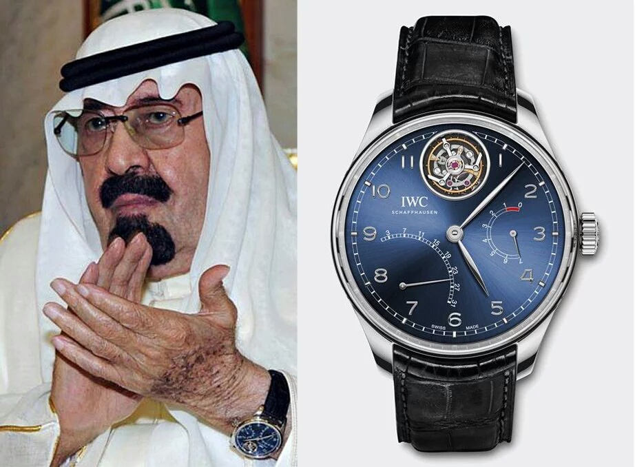 بالصور أنواع وأسعار ساعات الملوك والرؤساء والمشاهير