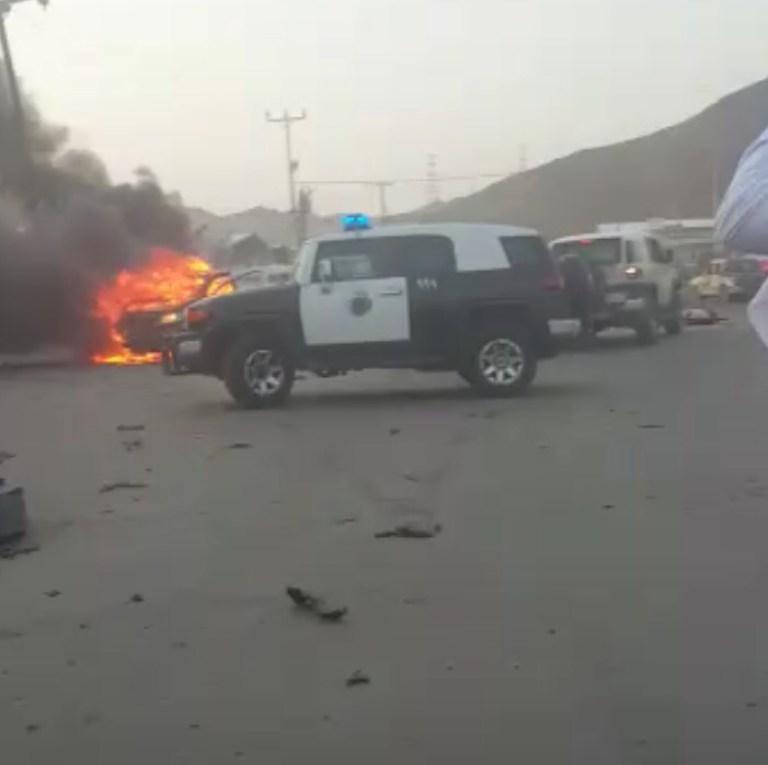 بالصور | استشهاد 7 أشخاص بعد سقوط مقذوفات حوثية على نجران