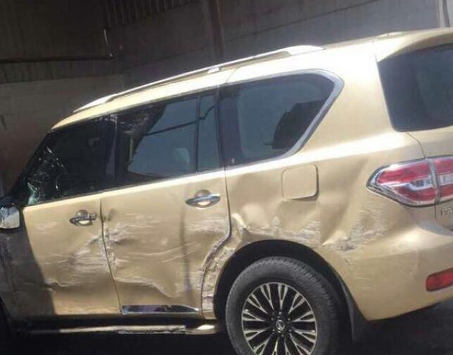 فيديو سقوط سيارة من بستم مغسلة السيارة