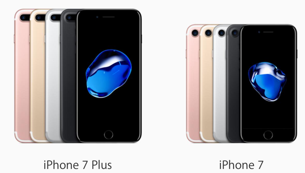 أسعار ومواصفات IPhone 7 و IPhone 7 Plus