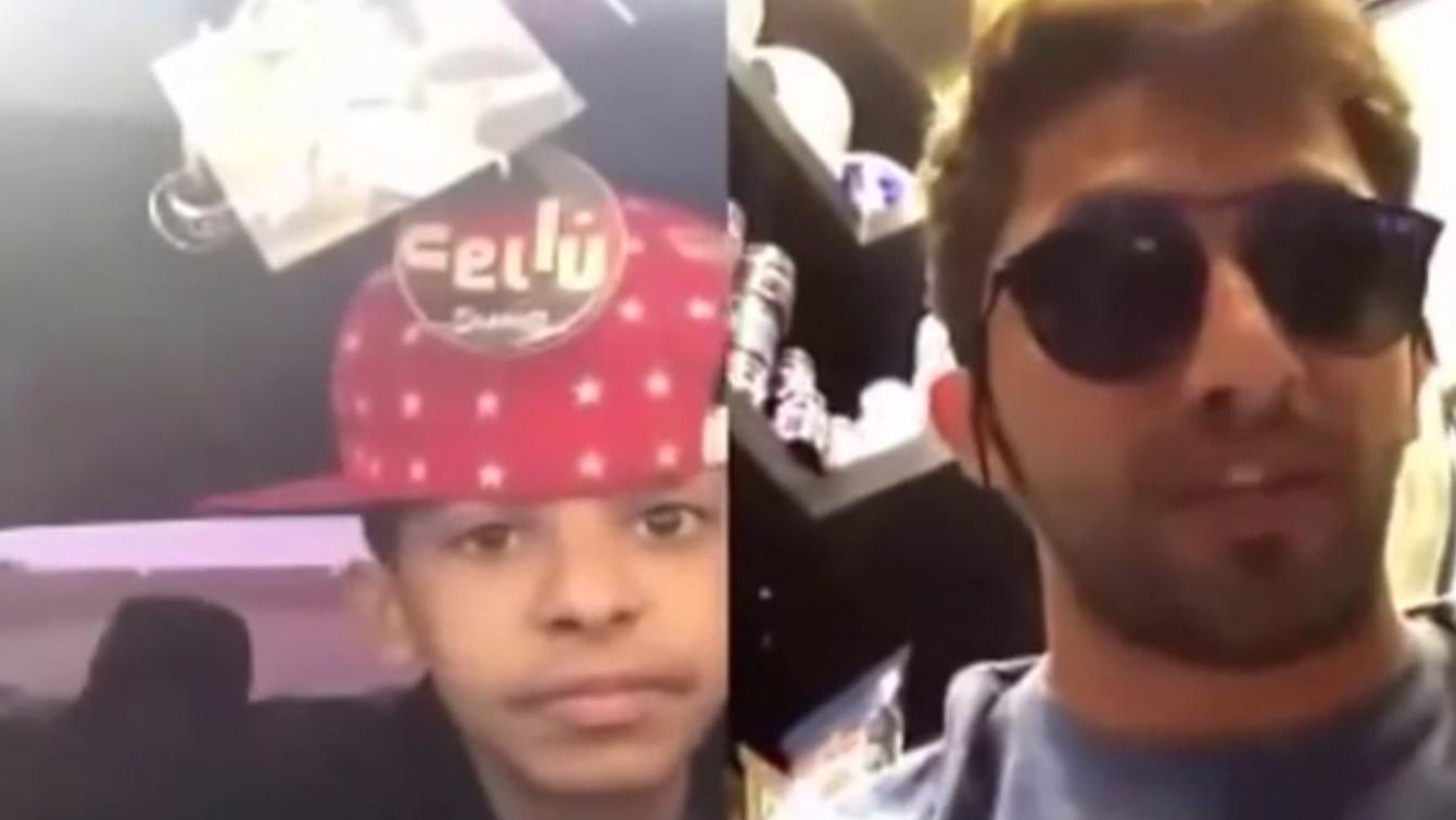 فيديو يوثق لحظة القبض على ابو سن وقت البث المباشر