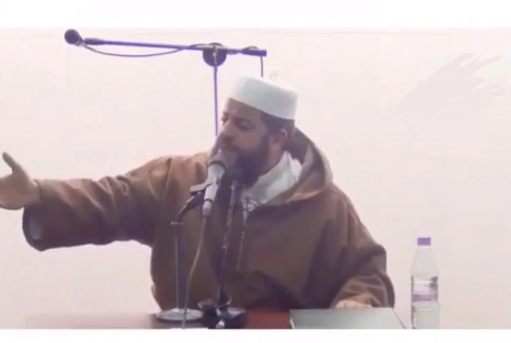 فيديو هزه ارضيه في مسجد اثناء إلقاء محاضرة شاهد ما حدث