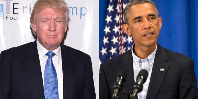 أوباما يكسر البروتوكول الامريكي ويرفض التقاط صورة مع ترامب