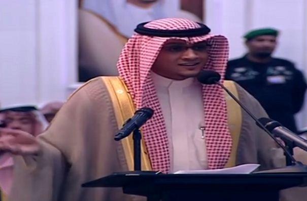 تعرف على الشاعر حيدر العبدالله الذي ألقى القصيدة أمام الملك وفوزه بجائزة المليون