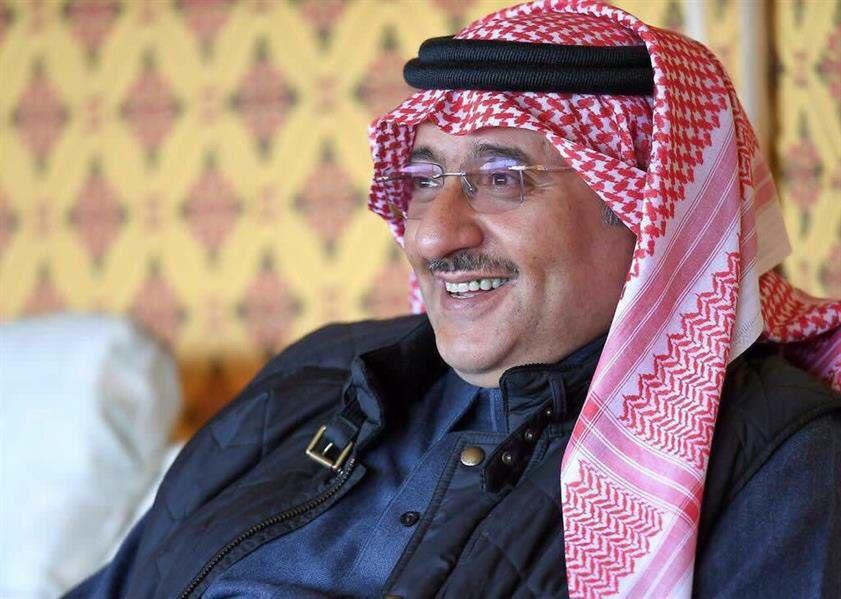 صور: ولي العهد يزور الأمير محمد بن فهد في روضة التنهات