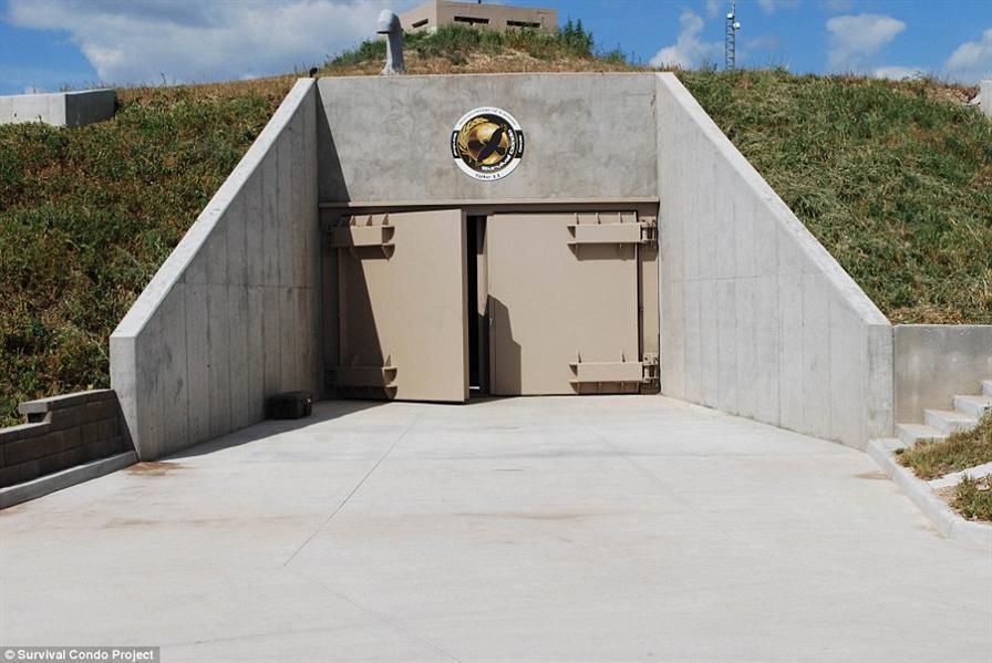 صور من داخل حصن مخصص لحماية المليونيرات في حال نشوب حرب نووية