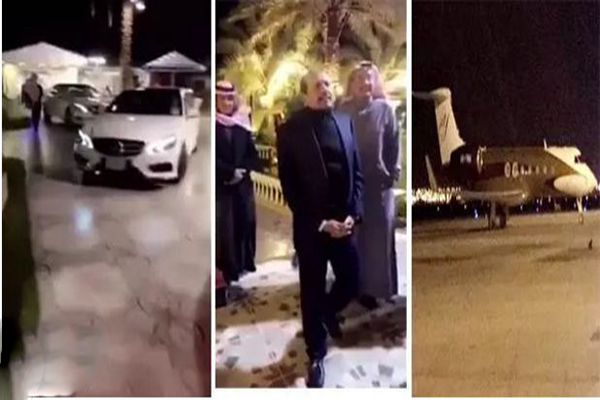 فيديو: وصول ملياردير هندي مالك أسواق مجموعة اللولو على طائرته الخاصة لمدينة حائل