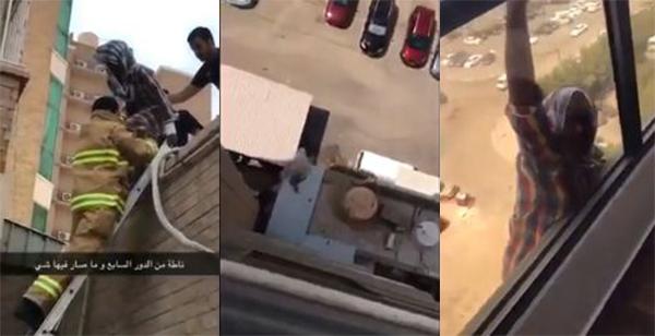 الكفيلة الكويتية تكشف أسباب عدم مساعدتها لخادمتها الأثيوبية التي سقطت من الطابق السابع