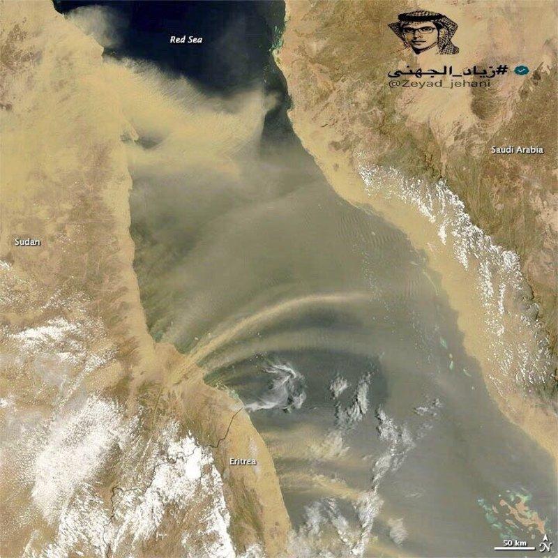 موجة غبار واسعة على مناطق عدة تستمر لأيام.. هذه تفاصيلها