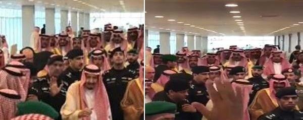 """بالفيديو .. شاهد كيف رد خادم الحرمين على طلب مواطن : """" أبو فهد ودي أسلِّم عليك"""""""