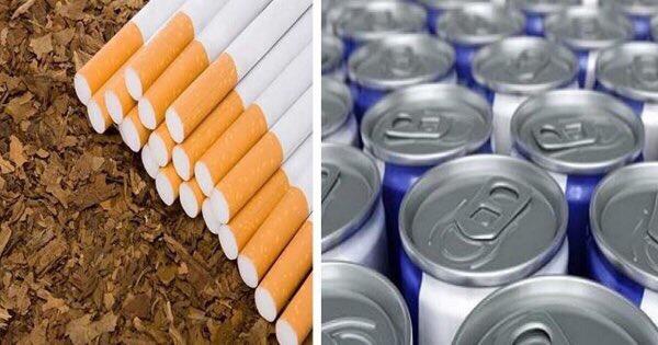 رفع المشروبات الغازيةالى 2.25 ريال للعلبة ورفع سعر الدخان100 % للباكيت الواحد.. ومشروبات الطاقة 100% تعرف على تفاصيل نظام الضريبة الانتقائية