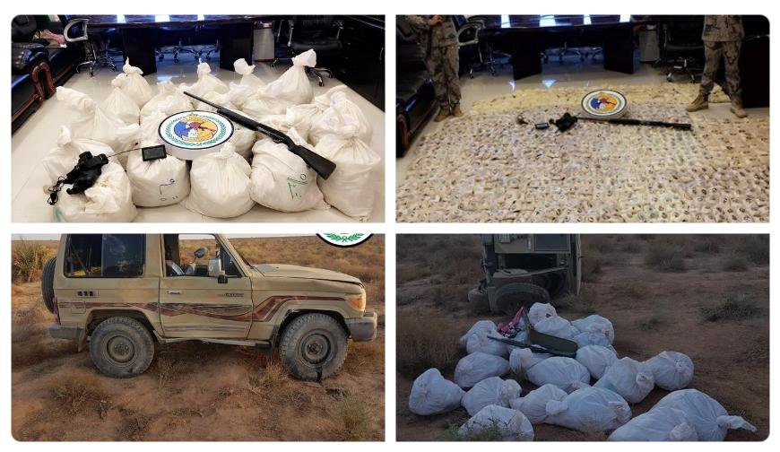 إحباط تهريب مخدرات عبر الحدود السعودية الأردنية