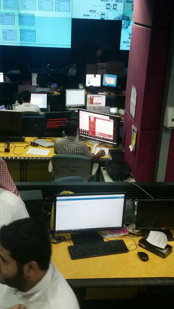 بالصور: فيروس الفدية يخترق أنظمة STC ويظهر على شاشات الموظفين