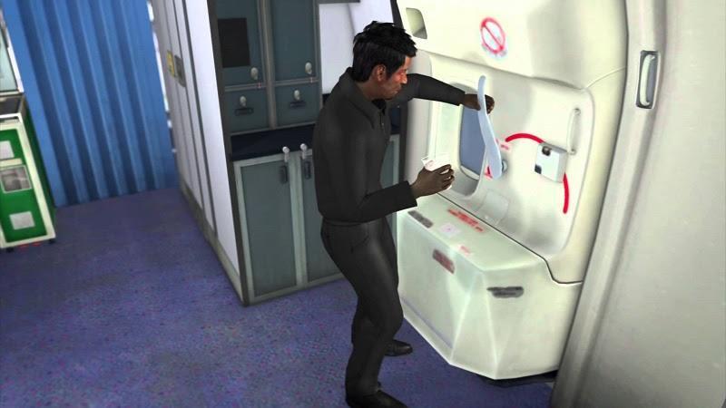 هذا ما سيحدث إذا فُتح باب الطائرة في الجو