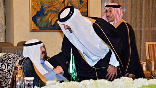 الملك عبدالله رحمه الله لتميم #كذاب_مثل_ابوك
