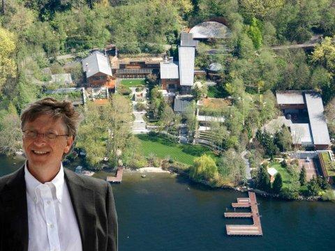 بالصور: حقائق لا يعرفها الكثيرون عن منزل أغنى رجل في العالم قيمته 125 مليون دولار