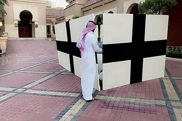 بالفيديو والصور: يزيد الراجحي يهدي لنفسه سيارة بوغاتي فيرون