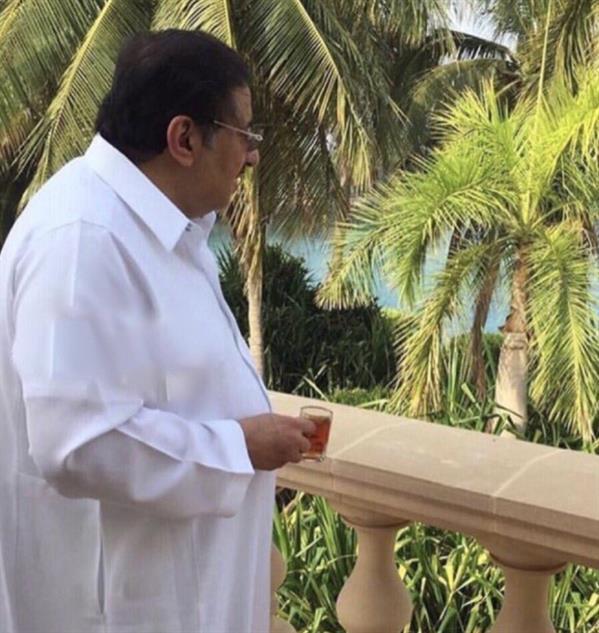 """""""صورة حديثة"""" للأمير محمد بن نايف في قصره بجدة"""
