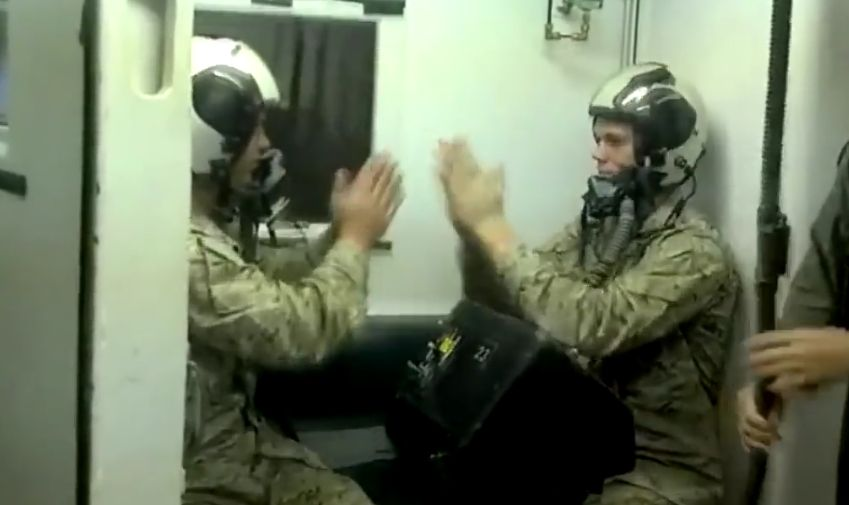 شاهد كيف يتم تدريب الطيارين على نقص الأوكسجين