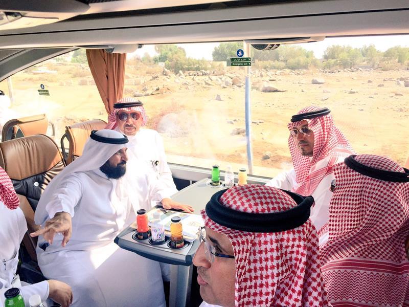 شاهد.. آخر لحظات نائب أمير عسير قبل تحطم طائرته.. كان في جولة مع عدد من المسؤولين