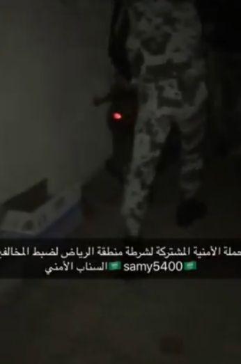 """شاهد """"?? القبض على اكبر مروجي الخمور في حملة وطن بلا مخالف بالرياض ??"""""""