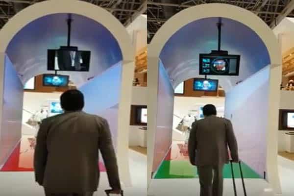 شاهد: تقنية ذكية جديدة لتفتيش المسافرين في مطار دبي