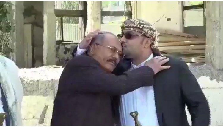 مقطع فيديو قبل اغتيال علي عبدالله صالح يحير الجميع
