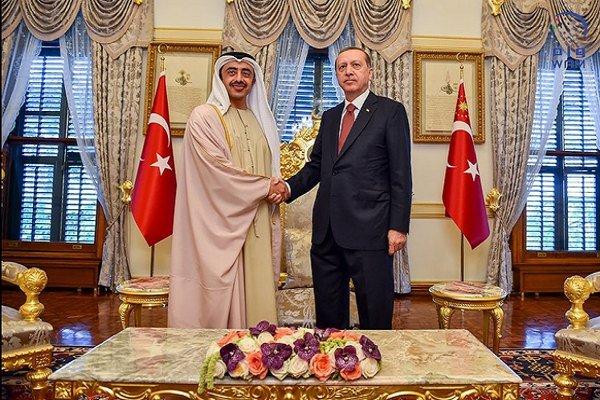 """بسبب إعادة تغريدة.. أردوغان يهاجم """"عبدالله بن زايد"""" : عليك أن تعرف حدودك!"""