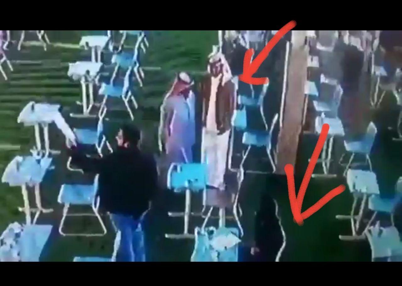 فيديو وثقته كاميرا مراقبة بإحدى مدارس السعودية لمعلم