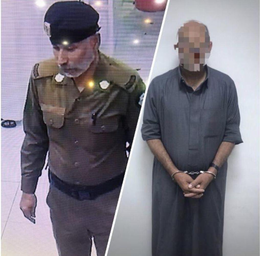 تحريات شرطة الرياض تكشف هوية منتحل صفة رجل الأمن بالخرج وتقبض عليه