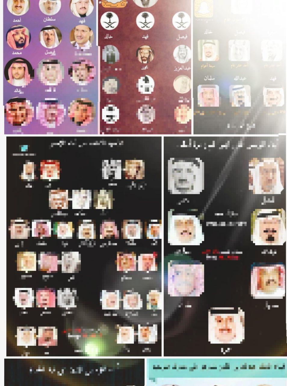 بعض المعلومات المهمة آل سعود
