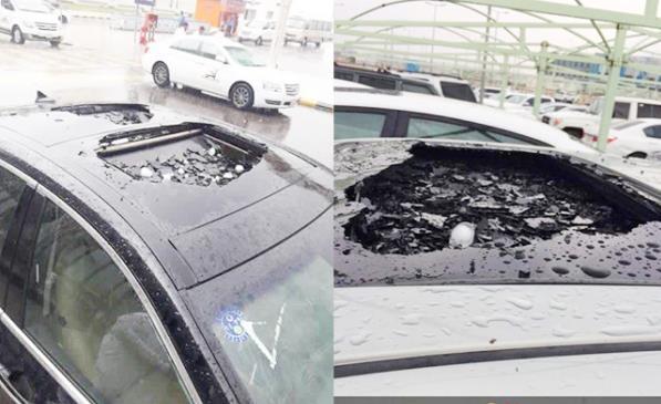 الجهات المعنية تضع خيارين أمام مَن تضررت سياراتهم بسبب الأمطار والبرد