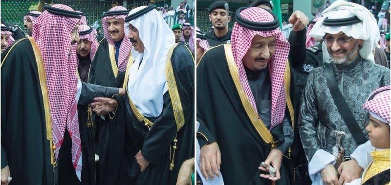 لقطتان عفويتان خلال العرضة السعودية تلجمان قنوات قطر وتكذِّبان قصصها الخرافية