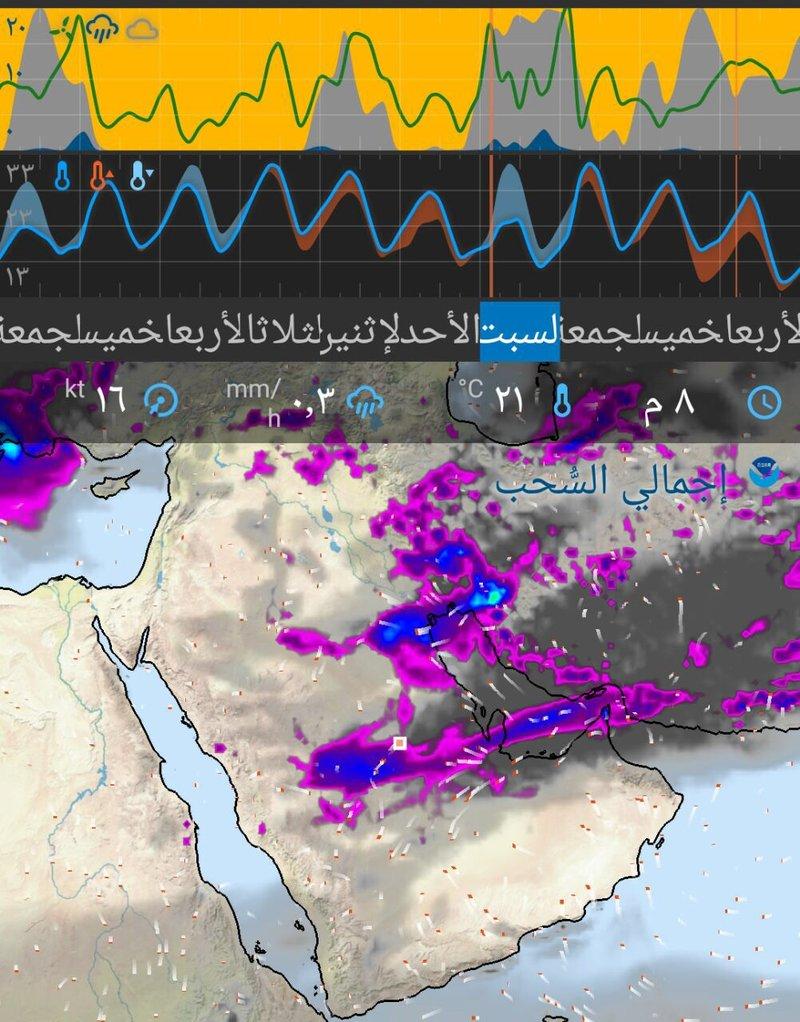 أمطار غزيرة تشهدها المملكة مطلع الأسبوع المقبل تعرفوا عليها