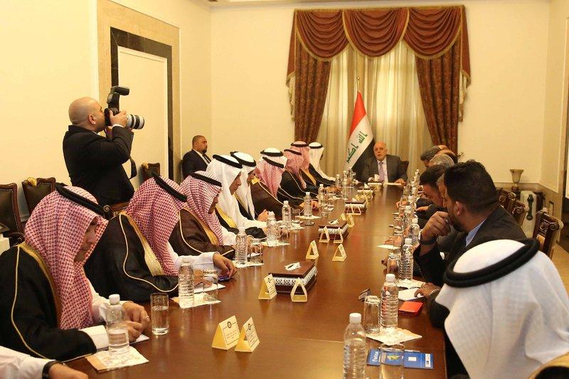 وفد إعلامي سعودي في بغداد.. أقل ما يمكن قوله