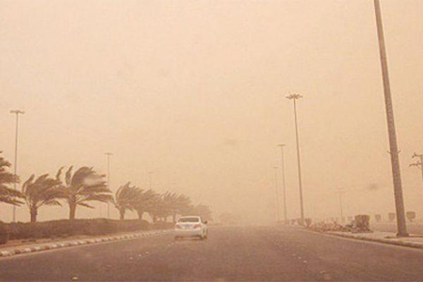 """""""الأرصاد"""": رياح وغبار وأمطار رعدية على عدة مناطق.. الثلاثاء"""
