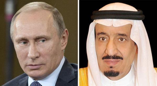 الملك يبحث مع بوتين هاتفياً