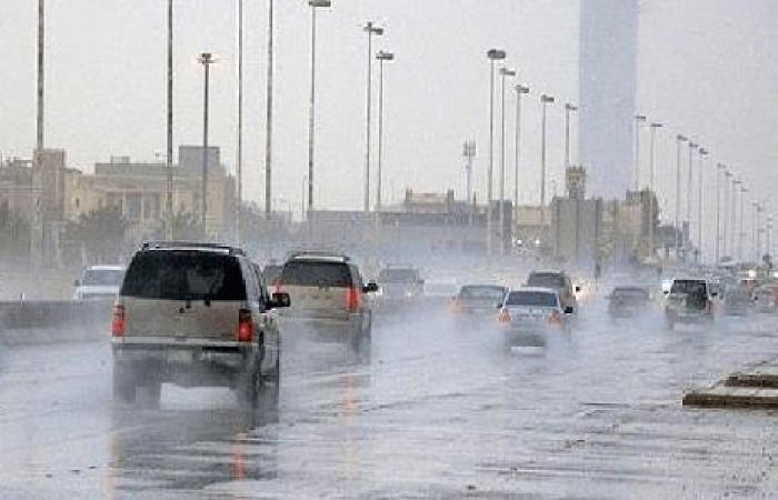الإنذار المبكر يحذر سكان 8 مناطق من هطول أمطار رعدية