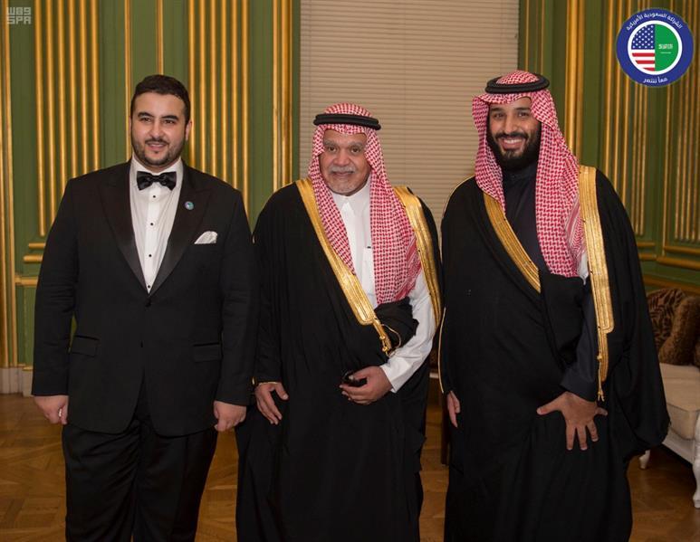 ماذا قال ولي العهد وخالد بن سلمان وبندر بن سلطان في حفل الشراكة السعودية الأمريكية؟
