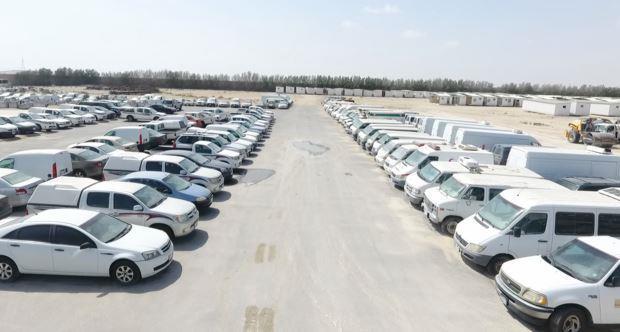 """بيع أكثر من 180 شاحنة وحافلة ومعدة ثقيلة في اليوم الثالث لمزاد ممتلكات """"معن الصانع"""""""