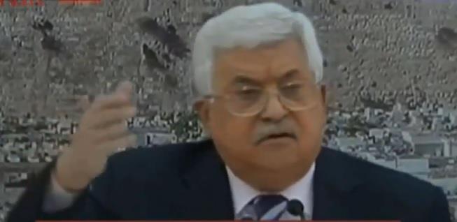 """بالفيديو.. الرئيس الفلسطيني يسب سفير أمريكا لدى إسرائيل على الهواء بـ""""ابن الكلب"""""""