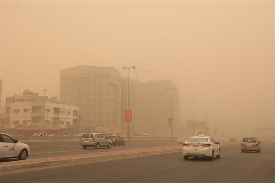 """""""الأرصاد"""" تحذّر من تعرض عدة مناطق بالمملكة للأتربة والغبار  اليوم الأثنين"""