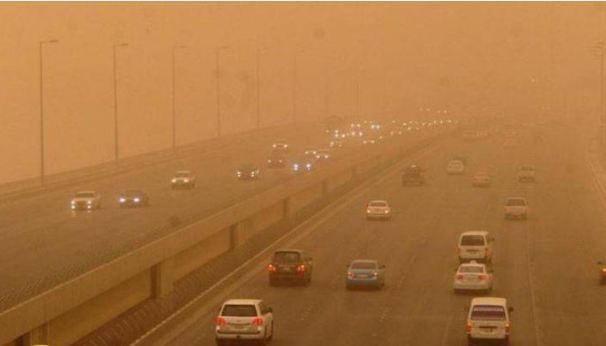 تحذير خطير رياح … و موجةغبارية على هذه المناطق