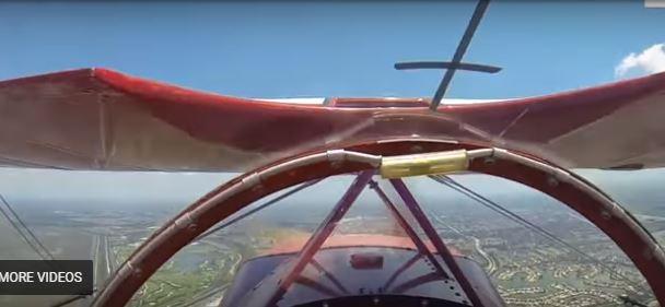 بالفيديو.. طيار يوثق لحظات الرعب بكاميرا جواله بعد تعطل محرك طائرته