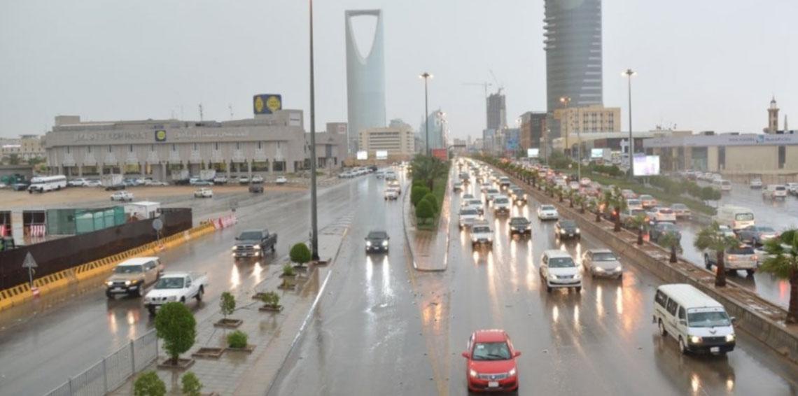 الأرصاد: فرص لهطول أمطار بعدة مناطق بالمملكة