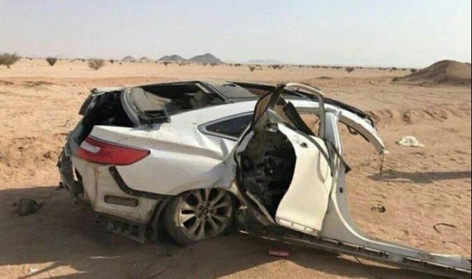 تفاصيل مؤلمة بشأن الحادث المروري الذي أدى إلى مصرع 9 أشخاص من عائلة واحدة في الدلم (صور)